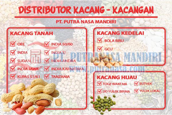 distributor kacang berkualitas